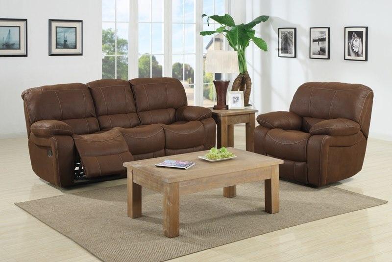 Frontier Village Reclining Living Room Set
