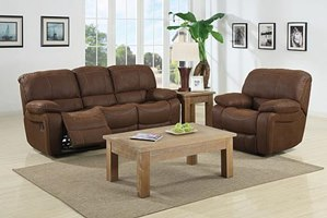 Frontier Village Reclining Living Room Set