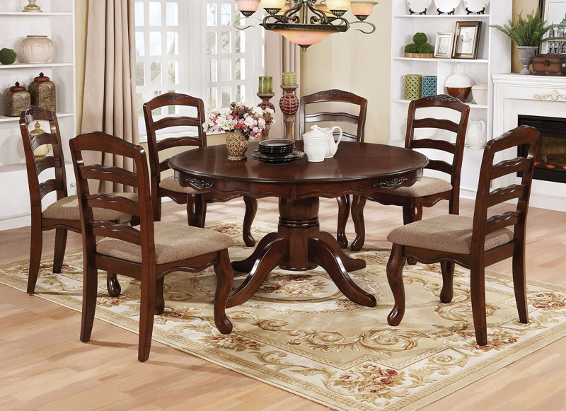 Townsville Formal Dining Room Set with Round Table