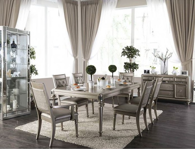 Dallas designer furniture bellagio formal dining room for Furniture of america dallas texas