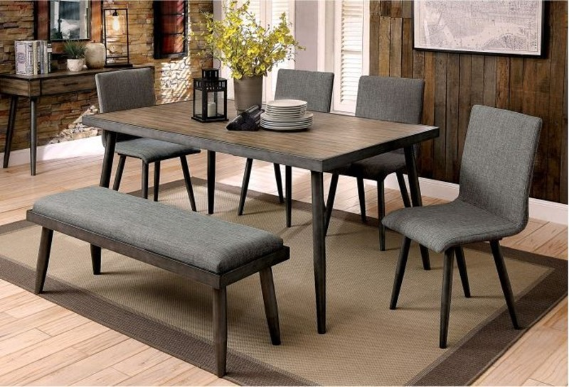 Vilhelm I Dining Room Set with Bench