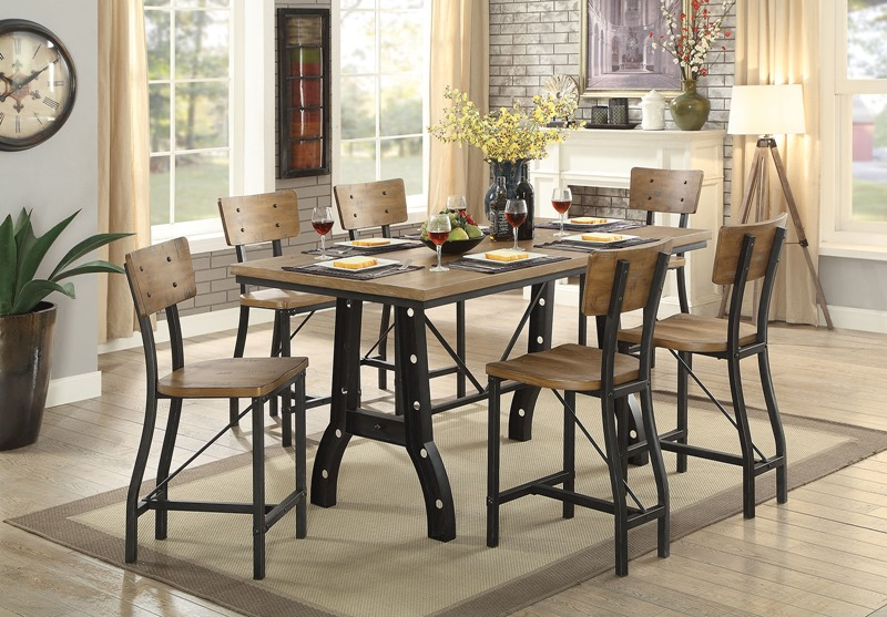 Kirstin Counter Height Dining Room Set