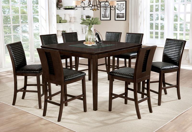 Jenessa Counter Height Dining Room Set