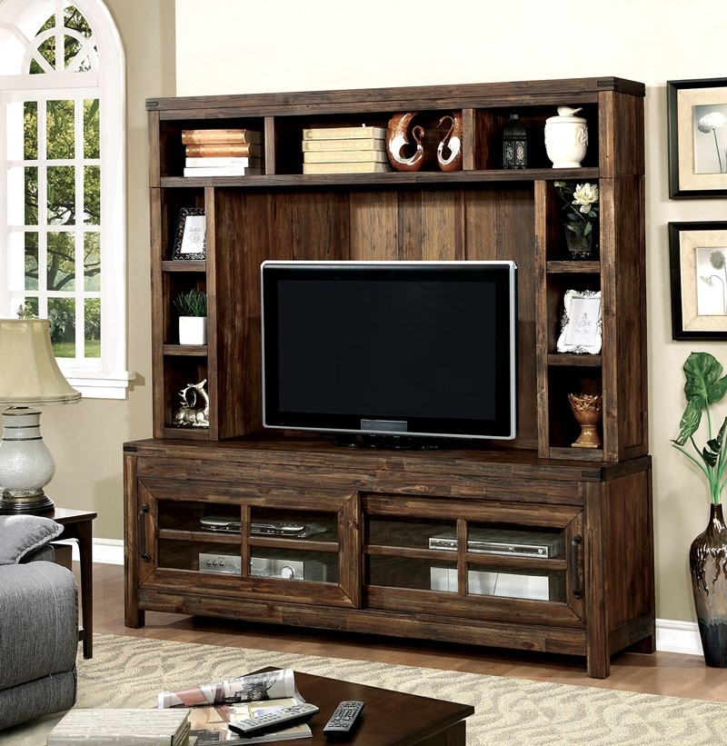 Hopkins Rustic Entertainment Center
