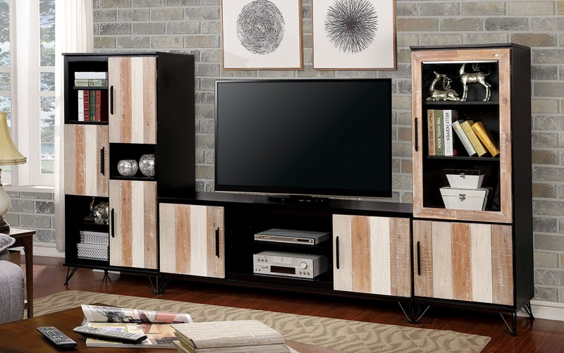 Binche Entertainment Center in Espresso