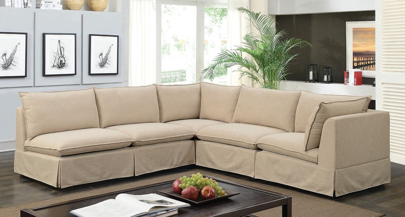 Furniture of America | CM6206 Joelle 5-Seat Sectional Sofa | Dallas ...