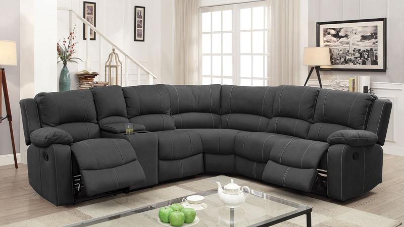 Monique Reclining Sectional Sofa