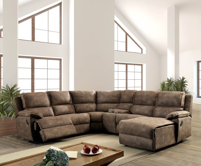 Amara Reclining Sectional Sofa