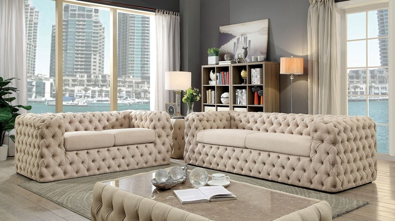 Furniture of america cm6599 gia living room set dallas for Furniture of america dallas texas