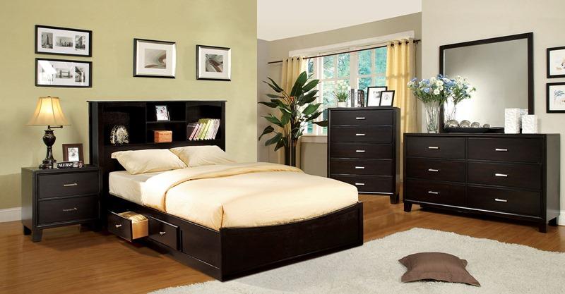 Furniture Of America Cm7053 Brooklyn Bedroom Set