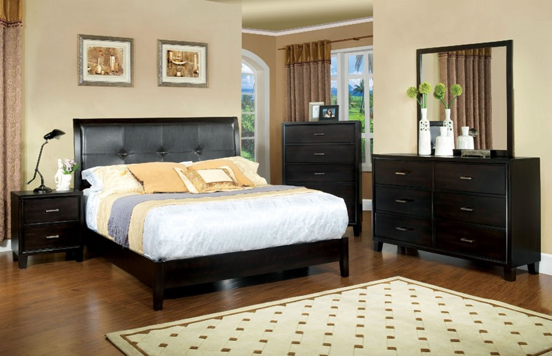 Enrico I Bedroom Set in Espresso