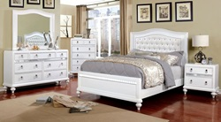 Ariston Bedroom Set in White