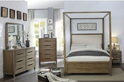 Garland Bedroom Set with Upholstered Canopy Bed