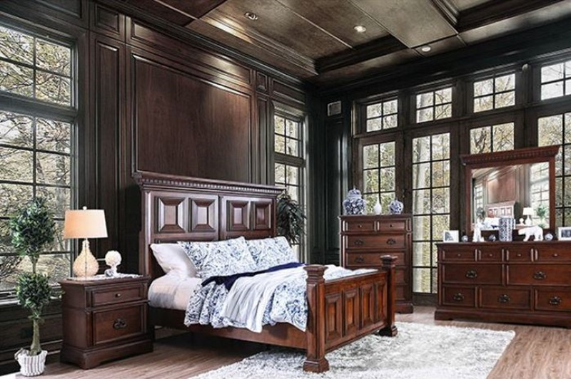 Furniture of america cm7373 millicent bedroom set for Furniture of america dallas texas