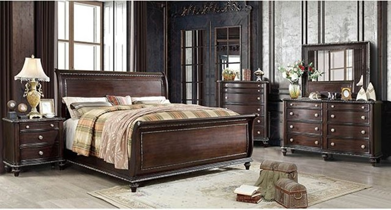 Europa Sleigh Bedroom Set