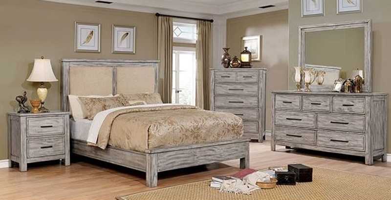 Furniture of america cm7423gy canopus bedroom set for Furniture of america dallas texas