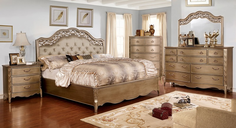 Furniture of america cm7442 capella bedroom set dallas for Furniture of america dallas texas