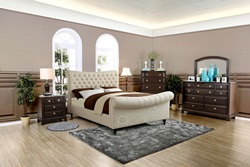 Galene Bedroom Set in Beige