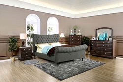 Galene Bedroom Set in Gray