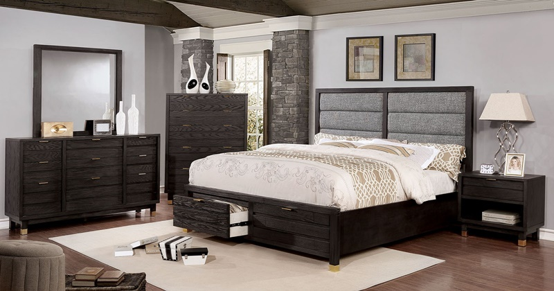 Bryony Bedroom Set with Storage Drawers