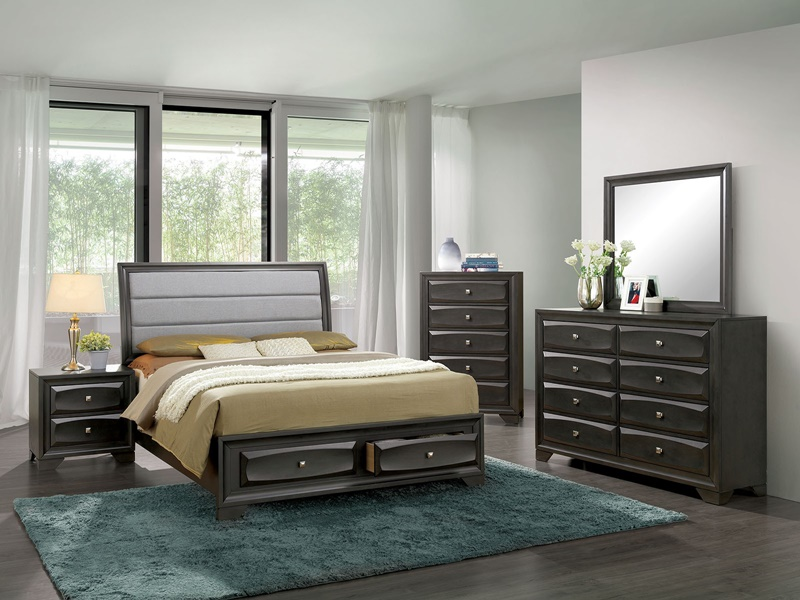 Ayana Bedroom Set with Storage Drawers