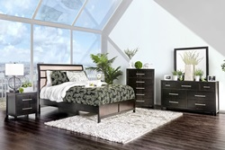 Berenice Bedroom Set in Espresso