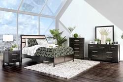 Berenice Bedroom Set in Espresso