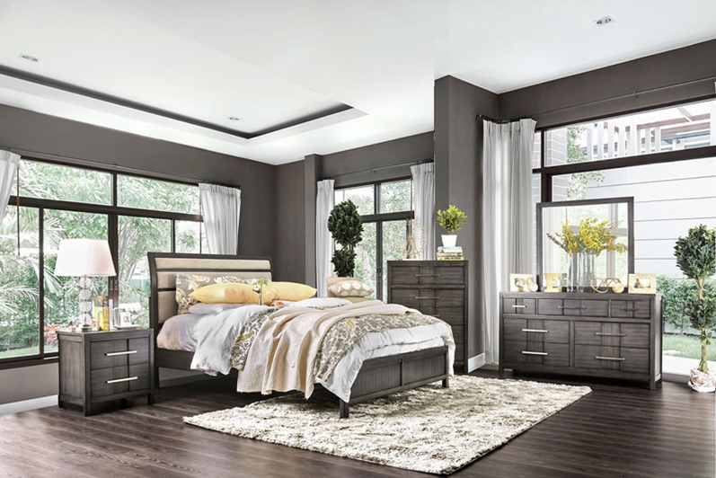 Furniture of america cm7580ex berenice bedroom set for Furniture of america dallas texas
