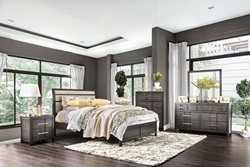 Berenice Bedroom Set in Gray