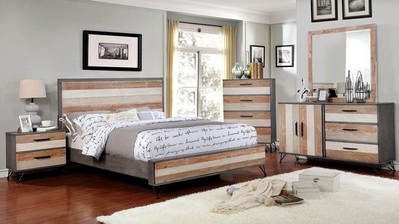 Hasselt Bedroom Set in Gray