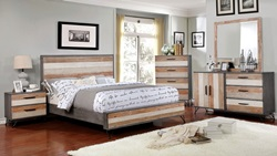 Hasselt Bedroom Set in Gray
