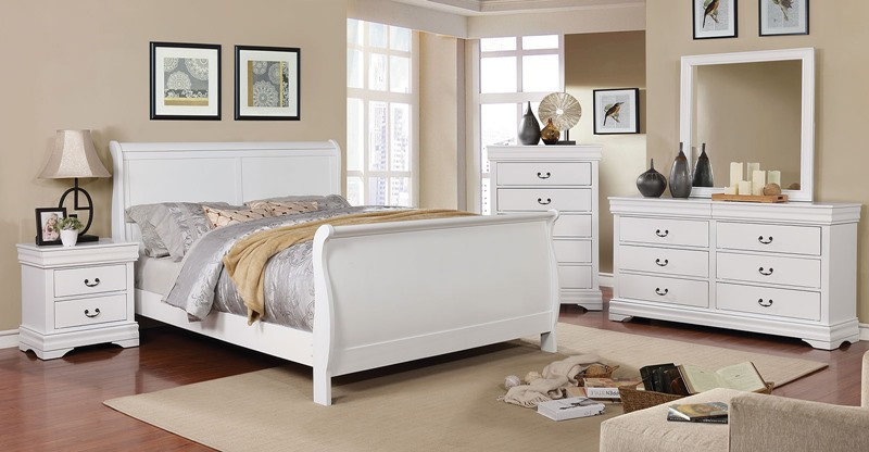 Eugenia Bedroom Set in White