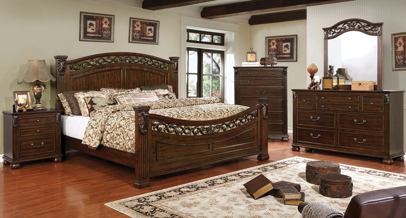 Furniture of america cm7730 cervantes bedroom set for Furniture of america dallas texas