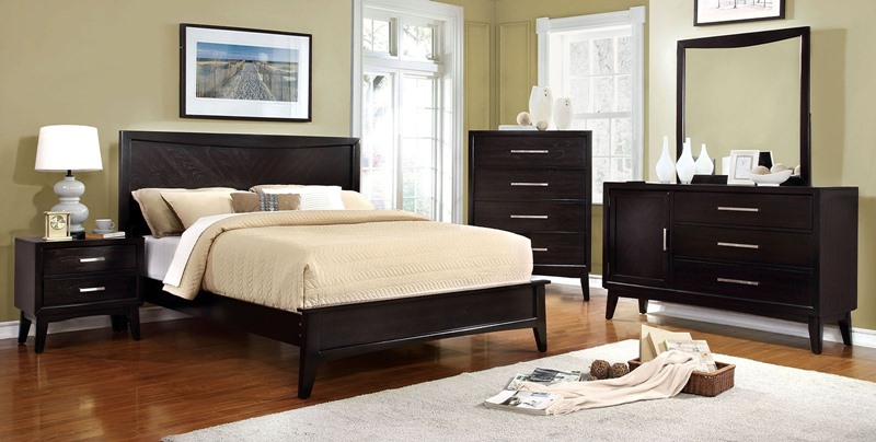 Snyder Bedroom Set in Espresso
