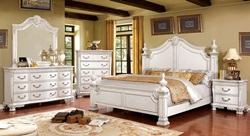 Hesperos Bedroom Set in White