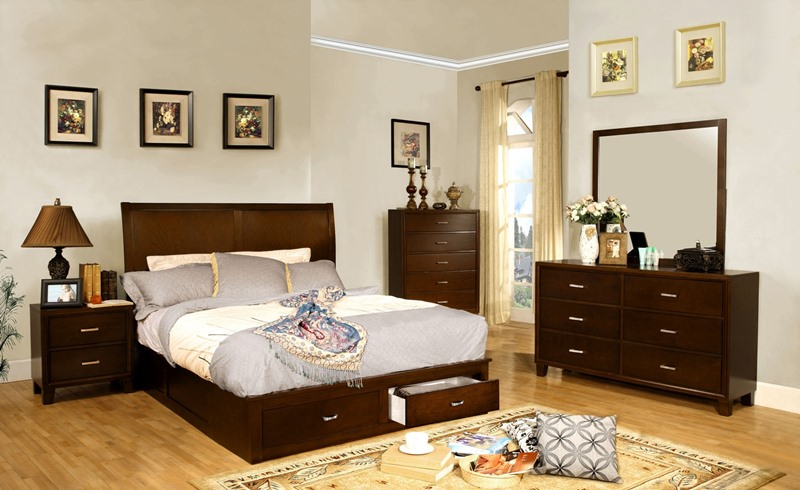Enrico V Bedroom Set with Storage Drawers