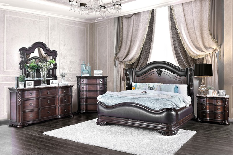 Furniture of america cm7859 arcturus bedroom set for Furniture of america dallas texas