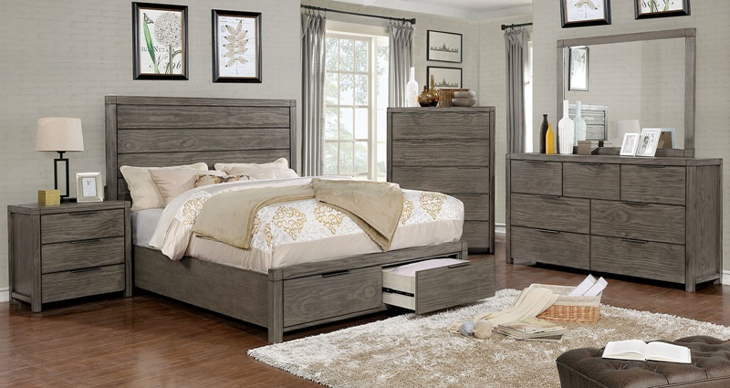 Asterope Bedroom Set with Storage Drawers