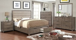 Ariella Bedroom Set with Storage Drawers