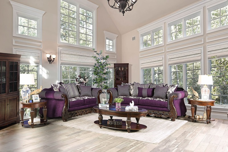 Emilia Formal Living Room Set