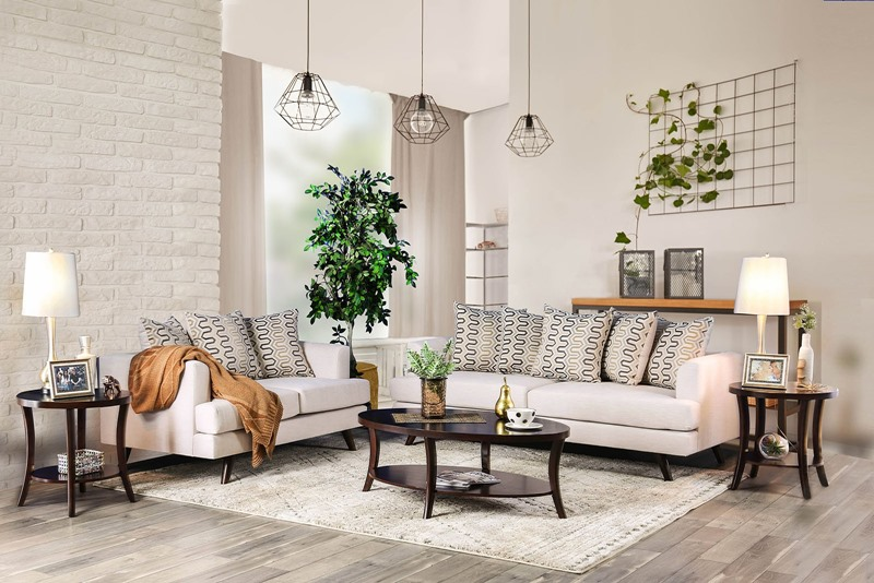 Blaenavon Living Room Set in Beige