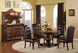 Benbrook Formal Dining Room Set with Round Table