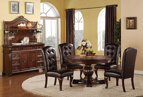 Hemingway Formal Dining Room Set with Round Table