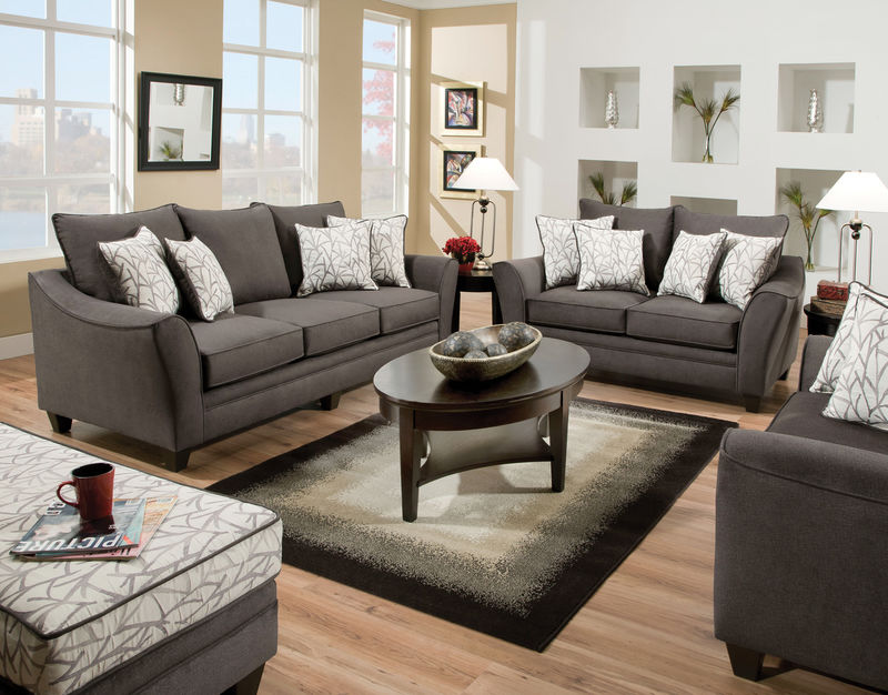 Flannel Seal Living Room Set