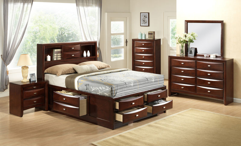 Ridgemont Bedroom Set with Storage Bed