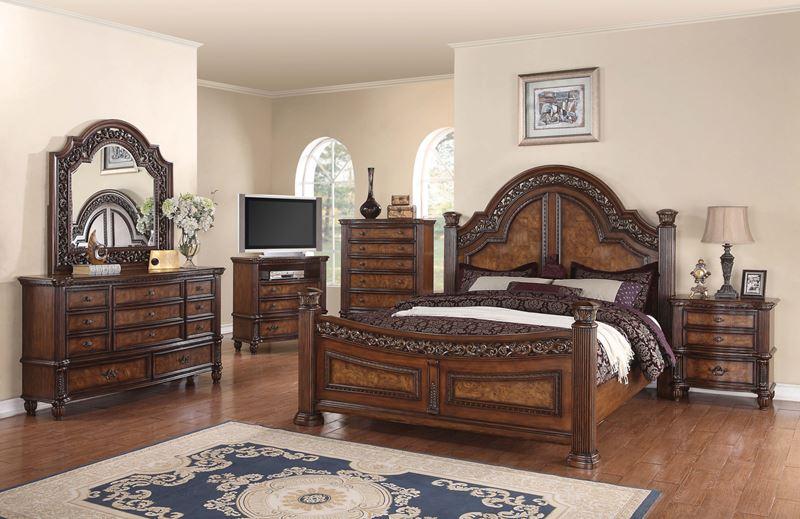 Caesar Traditional Master Bedroom Set