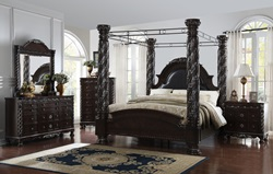Addison Bedroom Set with Canopy Bed