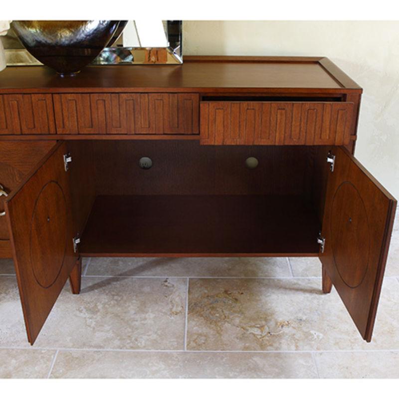 French Key Everything Cabinet in Dark Oak
