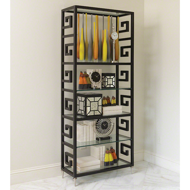 Greek Key Etagere