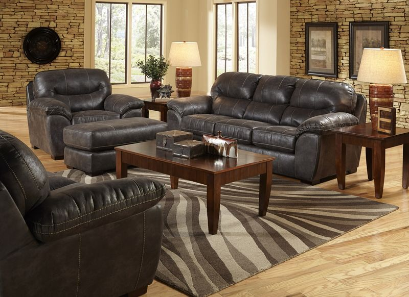 Grant Steel Living Room Set